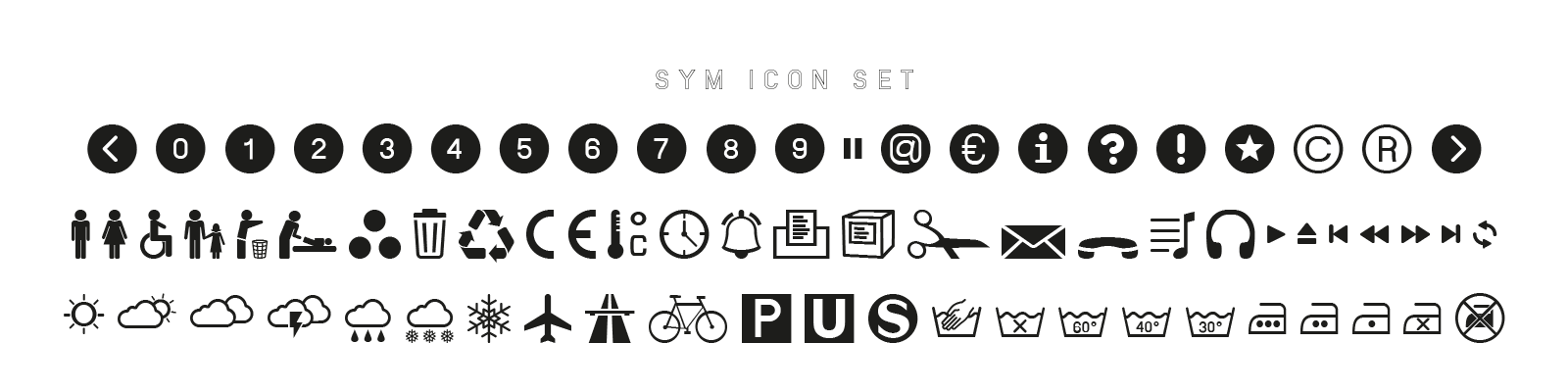 SYM Icon Set