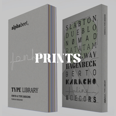 alphabeet prints